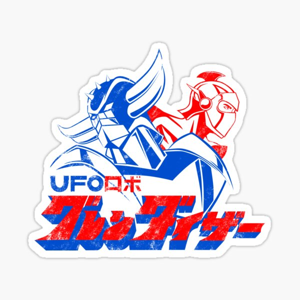 123b Grendizer Fleed Sticker