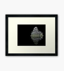 Matsumoto castle by night Framed Print