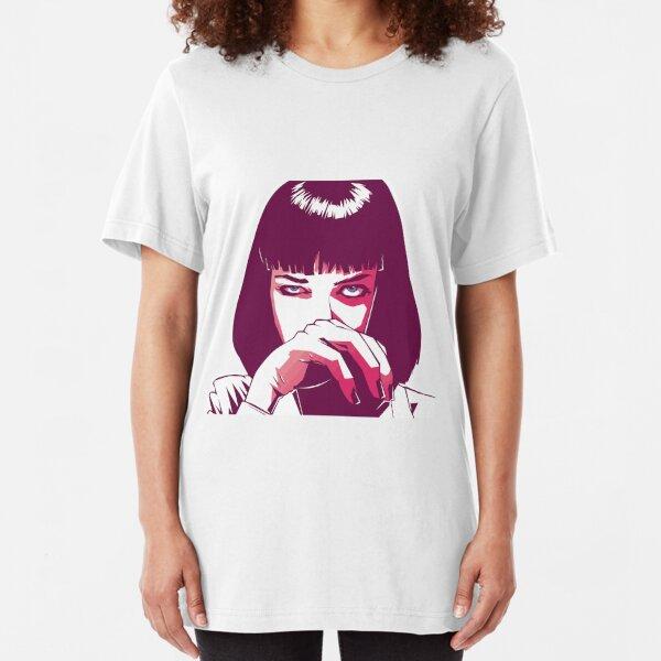 Mia Wallace Slim Fit T-Shirt