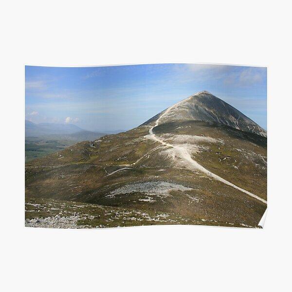 Croagh Patrick mountain Poster
