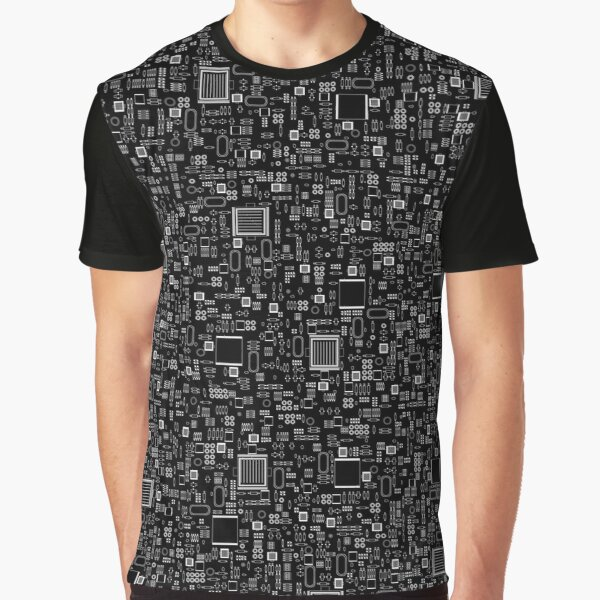 All Tech Line INVERTED Graphic T-Shirt