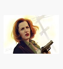 Scully badass Photographic Print