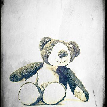 sitzender Teddybär... by pASob-dESIGN
