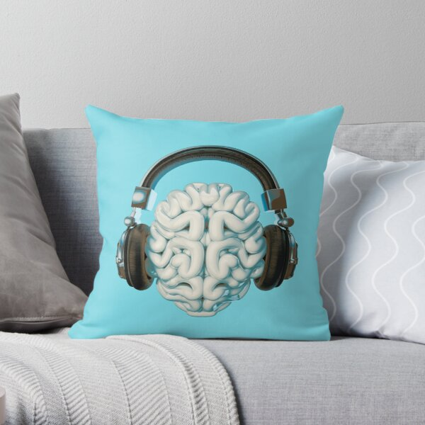 Mind Music Connection Cojín