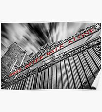 The Shankly Gates - Anfield Poster