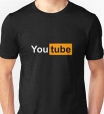 """YouTube """"Redesigned"""" Logo T-Shirt"""