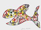 Letter Fish by Juhan Rodrik