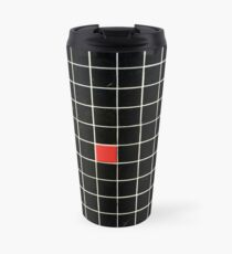 The Black Wall With The Red Rebell Travel Mug