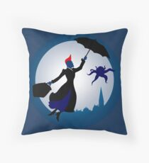 I'm Mary Poppins Y'all Throw Pillow