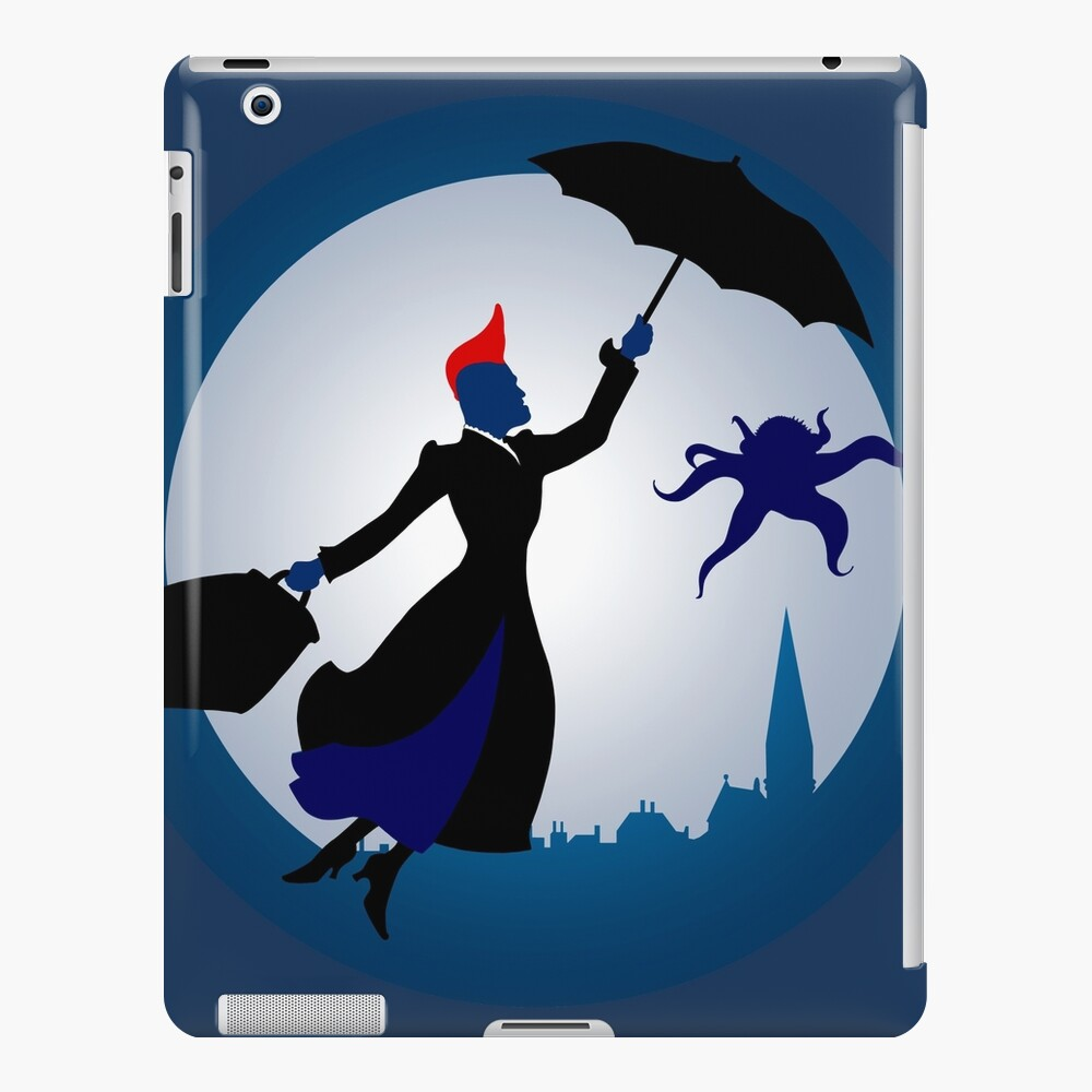 Ich bin Mary Poppins iPad-Hülle & Skin