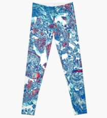 Blue Rocks Leggings