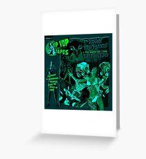 Punk Greeting Card