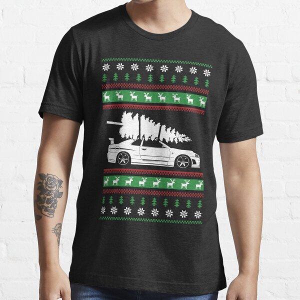 Weihnachten Nissan GTR R34 Essential T-Shirt
