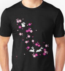 Japanisches Häschen - Pink Unisex T-Shirt