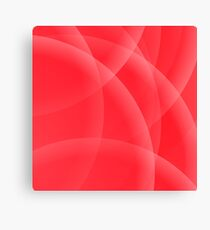 Abstract Red Background. Abstract Red Circle Pattern. Canvas Print