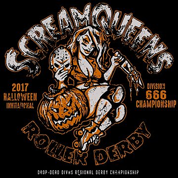 Scream Queens Roller Derby by HeartattackJack