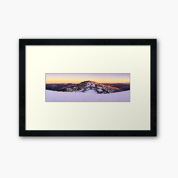 Hotham Heights, Mt Hotham, Victoria, Australia Framed Art Print