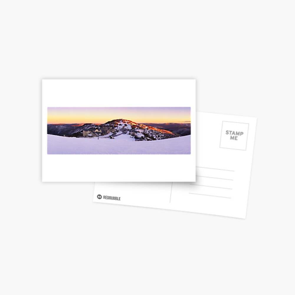 Hotham Heights, Mt Hotham, Victoria, Australia Postcard