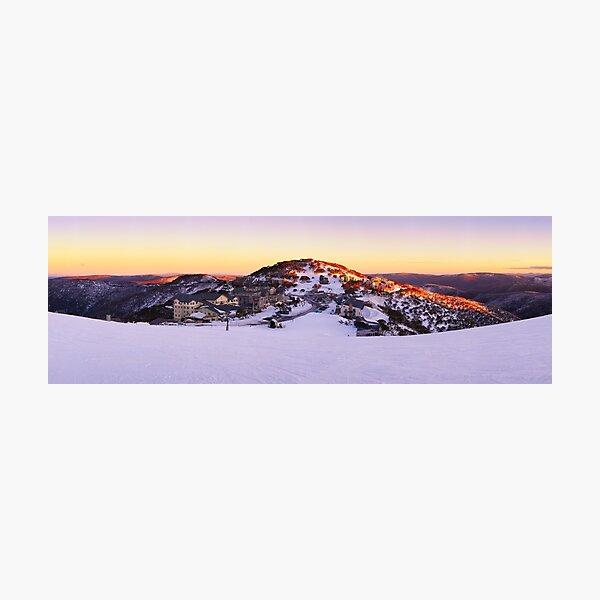 Hotham Heights, Mt Hotham, Victoria, Australia Photographic Print