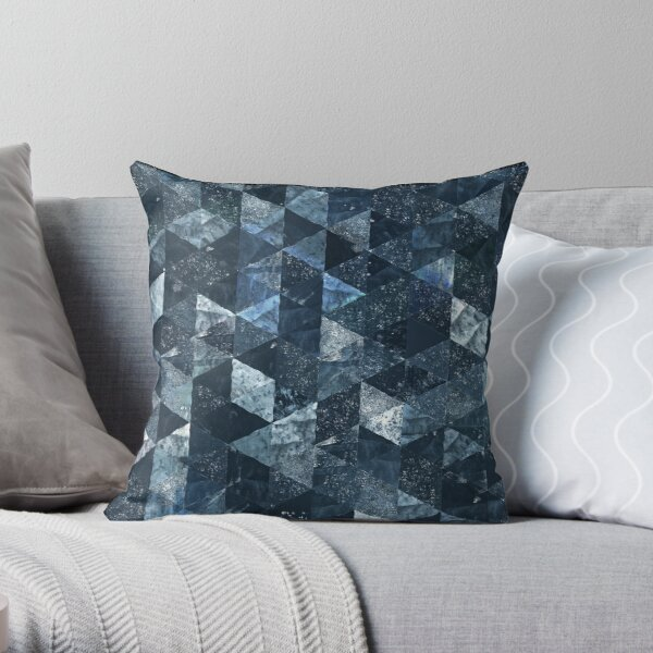 Abstract Geometric Background #23 Throw Pillow