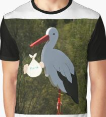 Look What the Stork Brought Graphic T-Shirt