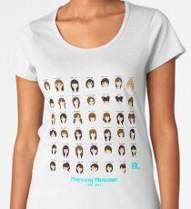 Morning Musume 1997-2017 Women's Premium T-Shirt