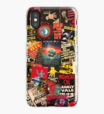 midnight oil wall 2 iPhone Case/Skin