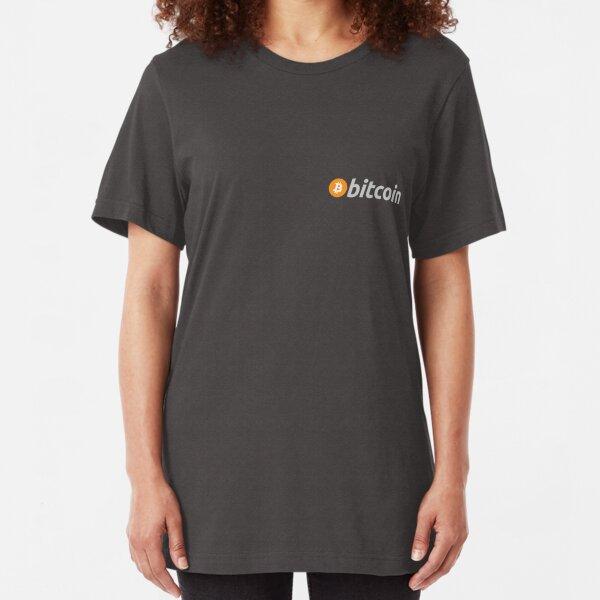 Bitcoin Pocket Slim Fit T-Shirt