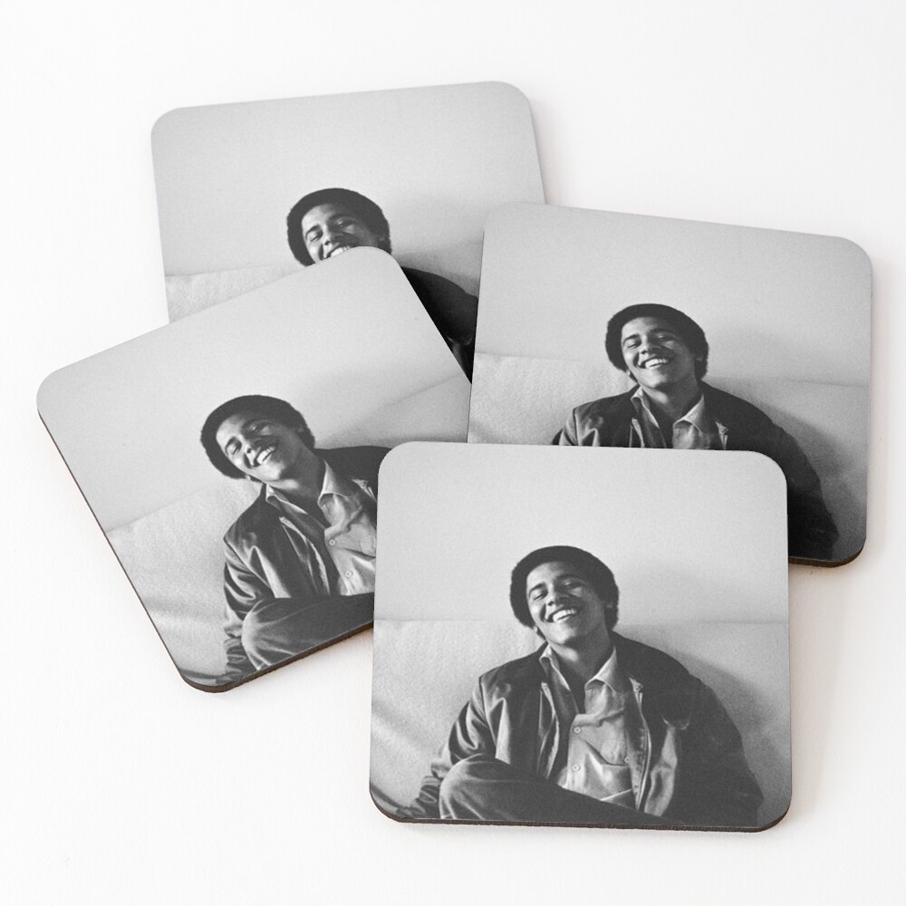 Young Obama Coasters (Set of 4)