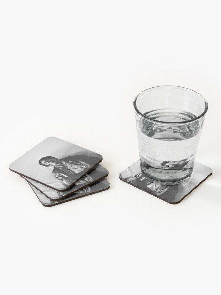 Alternate view of Young Obama Coasters (Set of 4)