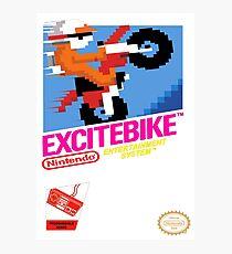 NES Excitebike Transparent  Photographic Print