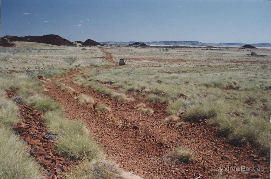 Pilbara track by AndrewBentley