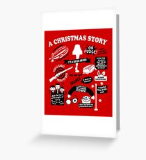 Christmas Story Quotes Greeting Card