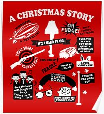 Christmas Story Quotes Poster