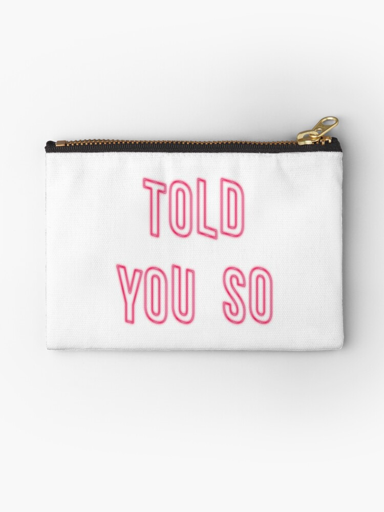 Told You So - White by Glyzelle Alano