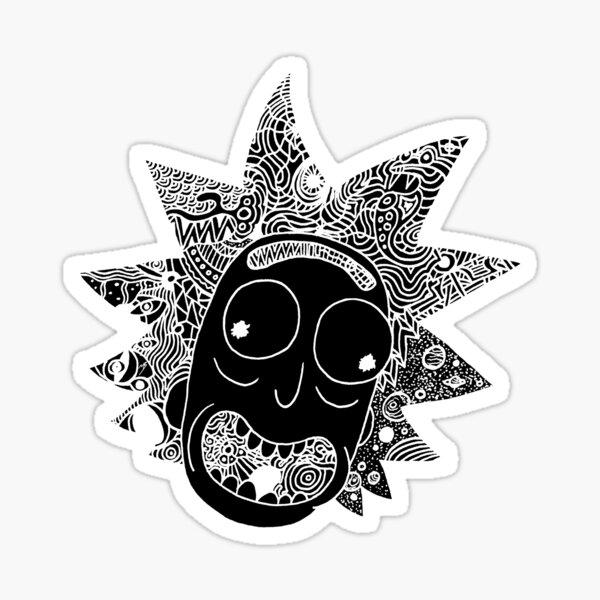 RICK BLACK Sticker