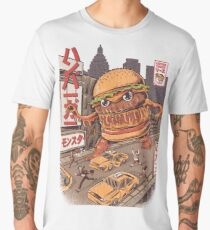 BurgerZilla Men's Premium T-Shirt