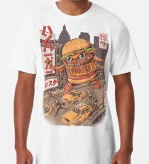 BurgerZilla Long T-Shirt