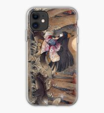 Running With Monsters - Kitsune Fox Yokai  iPhone Case