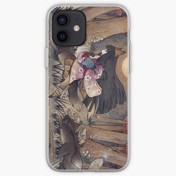 Running With Monsters - Kitsune Fox Yokai  iPhone Soft Case