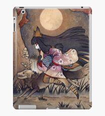 Running With Monsters - Kitsune Fox Yokai  iPad Case/Skin