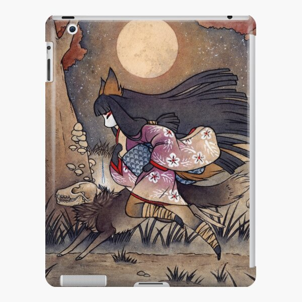 Running With Monsters - Kitsune Fox Yokai  iPad Snap Case