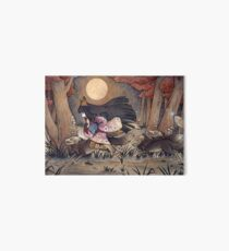 Laufen mit Monstern - Kitsune Fox Yokai Galeriedruck