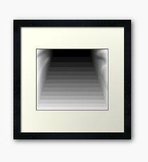 Into The Basement Framed Print