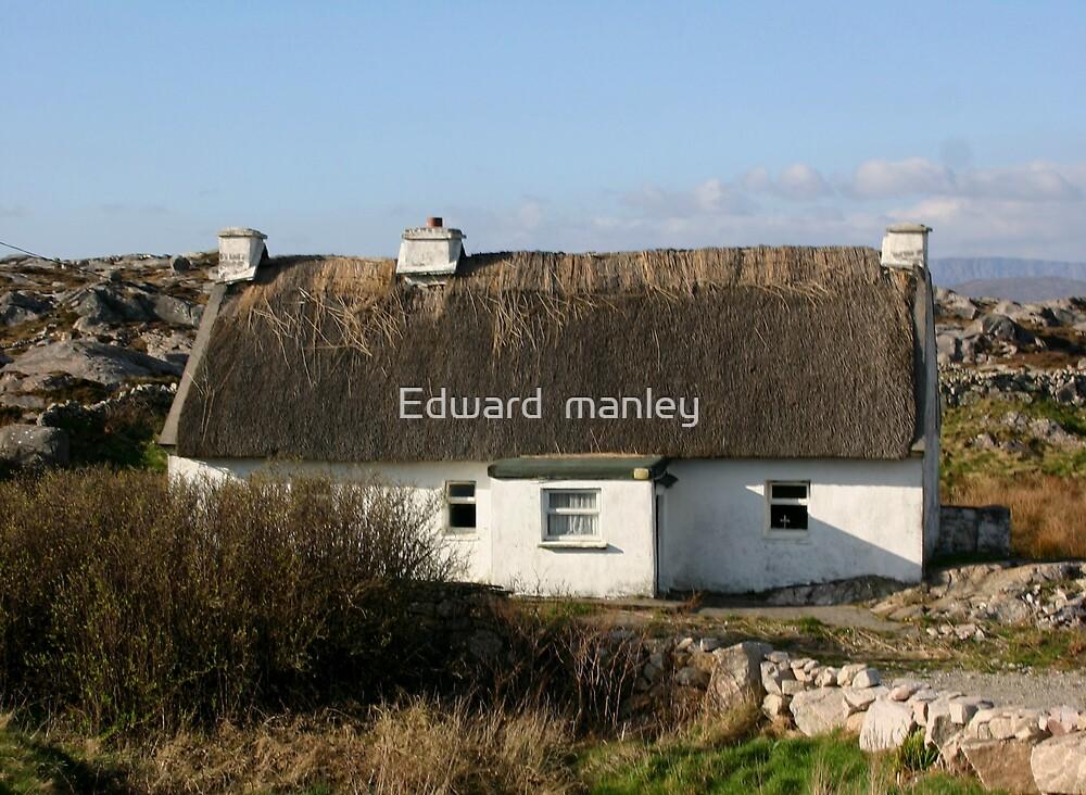Irish cottage by Edward  manley
