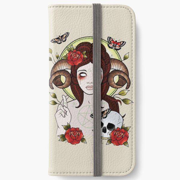 Pagan Goddess iPhone Wallet