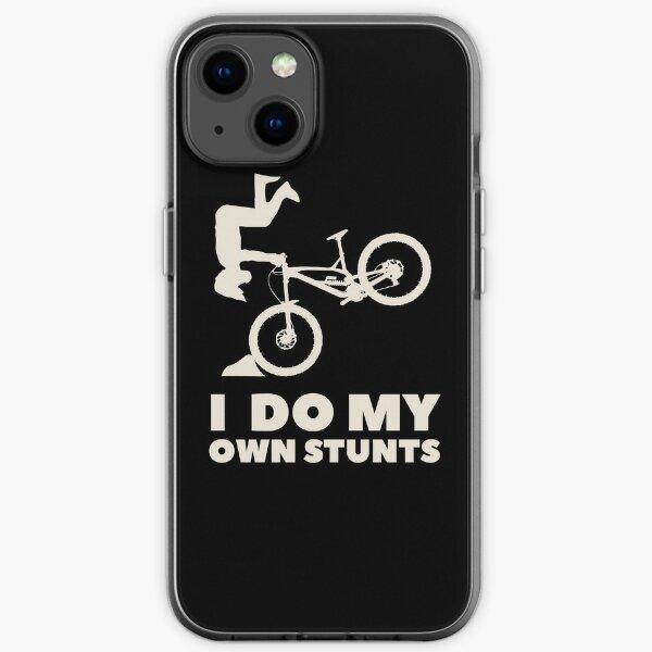 I do my own stunts! MTB Shirt iPhone Soft Case