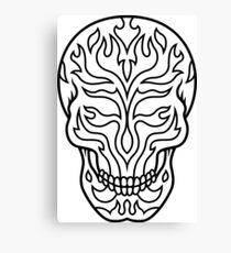 Skull Shirt – Cool Skull T Shirt – Skull Shirts – Sugar Skull Shirt – Skull T Shirts – Skull Shirt Men – Skull Shirts for Women – Skull Shirts For Men – Skull T-Shirt - Skull T-Shirts for Women  Canvas Print