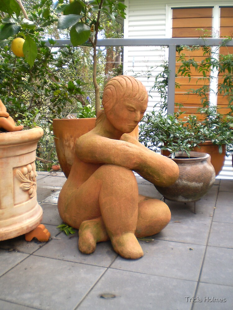 Terracotta lady... by Tricia Holmes