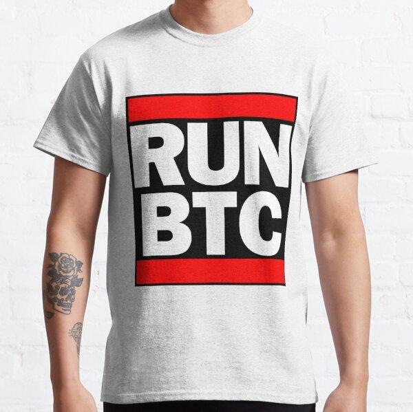 Run Bitcoin BTC Classic T-Shirt